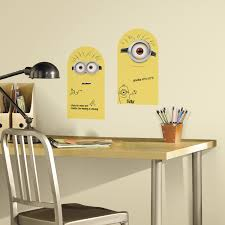 cartoon wall stickers decals sticker shop minion dry erase wall decals