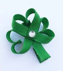 shamrock ribbon ribbon sculpture woven shamrock with bonus book