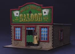 Cowboys Flag Old West Cowboy Saloon Wargame Building Battle Flag