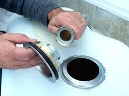 Sealant For Kitchen Sink Seal Around Kitchen Sink Install Kitchen Sink Drain Counter Seal
