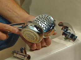 how to change a showerhead how tos diy