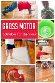 gross motor activities for