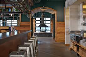 barrelback restaurant walloon lake michigan concrete floors