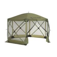 clam portable gazebo canopy tent screen popup tent