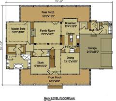 Floor Plans With 3 Car Garage 3 Story 5 Bedroom Home Plan With Porches Southern House Plan