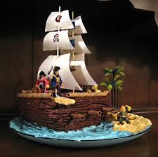 pirate ship cake cake