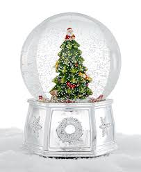 spode tree large snow globe serveware dining