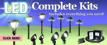 low voltage led landscape lighting kits led landscape lighting sets led complete light kits low voltage