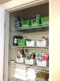 Bathroom Closet Shelves Bathroom Closets Ideas Bathroom Closet Organizers Cabinet