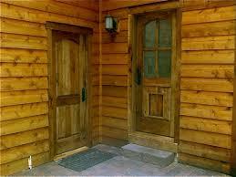 Log Cabin Interior Doors Interior U0026 Exterior Solid Wood Doors In Washington Montana U0026 Ca