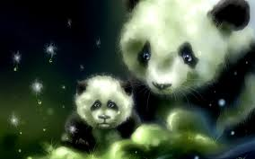 cute backgrounds for desktop cute panda background wallpapersafari