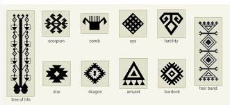 the meaning of symbols used in tribal rugs kilims i rugs