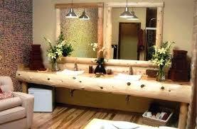 Rustic Wood Bathroom Vanity - vanities reclaimed wood vanity cabinet double sink vanity base