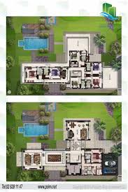 Six Bedroom Floor Plans 6 Bedroom Shoreline Villa