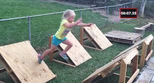 this hero dad built his 5 year old daughter a backyard u0027american