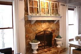 painting a stone fireplace binhminh decoration