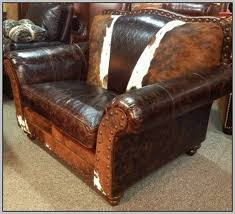 Leather Chair And Half Design Ideas Beautiful Black Leather Chair And A Half With Ottoman In Home