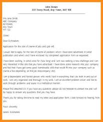 best solutions of sample cover letter for unadvertised job in