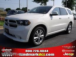 Dodge Durango White - 2011 dodge durango heat in stone white 706555 vannsuv com