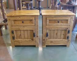 concealed hidden gun compartment pallet wood nightstand