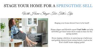 how to stage your home for sale this spring mystylespot
