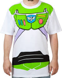 buzz lightyear costume shirt toy story mens t shirt