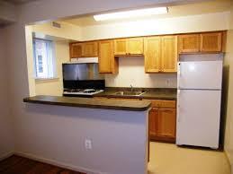 small breakfast bar set gray cabinet kitchen straight kitchen