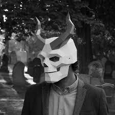 Skeleton Masks For Halloween by Masks Wintercroft