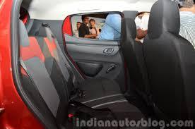 kwid renault interior renault kwid rear legroom india unveiling indian autos blog