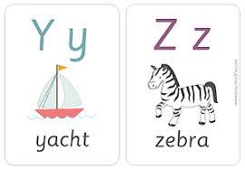 printable alphabet flash cards babysitting academy