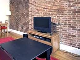 exposed brick wall apartment juliet in new york city