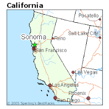 sonoma california map best places to live in sonoma california
