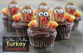 nutter butter turkey cupcakes mommysavers