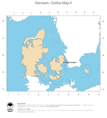 Map Of Denmark Map Denmark Ginkgomaps Continent Europe Region Denmark