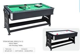 Air Hockey Table Dimensions by Rolling 2 In 1 Game Table Include Hockey Table And Pool Table