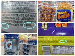 a high fructose corn syrup artificial food dye tour of walmart