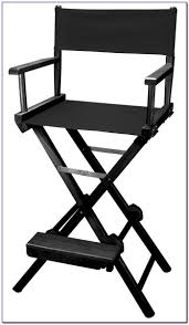 Tall Directors Chair With Side Table Tall Directors Chair With Side Table Chairs Home Decorating