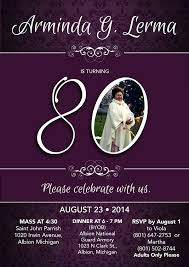 80th birthday invitations 80th birthday invitations birthday party invitations
