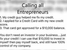 3 Approved Memes - dopl3r com memes calling all entrepreneurs 1 my credit guy