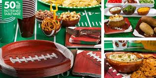 themed decorations football party supplies football decorations favors party city