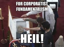 Milton Meme - for corporatist fundamentalism heil milton friedman quickmeme