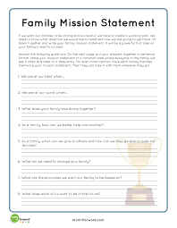 family mission statement writing prompt ideas raising a keiki
