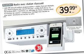 radio de cuisine lidl promotion radio avec station d accueil silvercrest radio