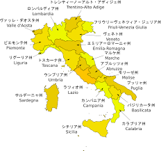 Italy Regions Map by File Italy Regions Ja It Svg Wikimedia Commons