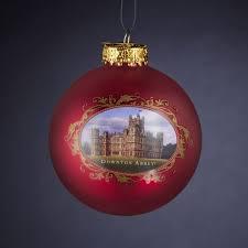 downton glass castle ornament downton