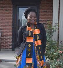 kente stole phi mu alpha authentic woven graduation kente cloth stoles