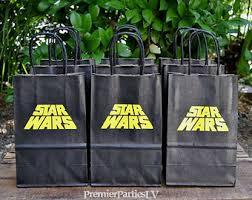 wars gift bags wars favor bags etsy