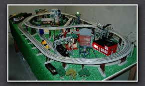 lionel train track table long google search personal projects