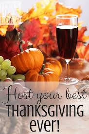 how to host thanksgiving dinner whether it s your time or