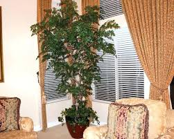 fake trees for home decor artificial trees for home decor ft tall artificial plastic tree w 3